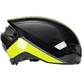 BBB Tithon BHE-08 Helm schwarz gl/neon gelb